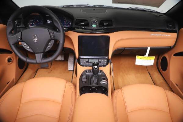 New 2019 Maserati GranTurismo Sport Convertible for sale $161,970 at Bugatti of Greenwich in Greenwich CT 06830 22