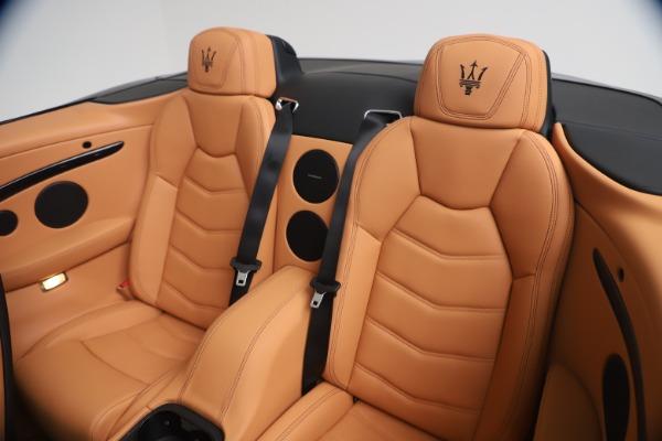 New 2019 Maserati GranTurismo Sport Convertible for sale $161,970 at Bugatti of Greenwich in Greenwich CT 06830 24