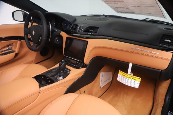 New 2019 Maserati GranTurismo Sport Convertible for sale $161,970 at Bugatti of Greenwich in Greenwich CT 06830 26