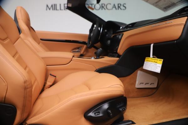 New 2019 Maserati GranTurismo Sport Convertible for sale $161,970 at Bugatti of Greenwich in Greenwich CT 06830 27
