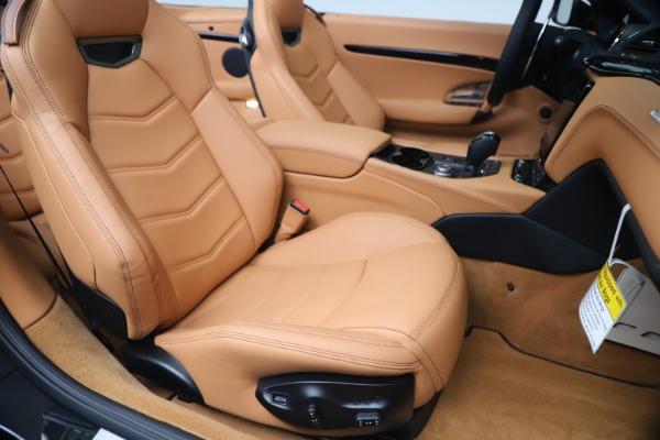 New 2019 Maserati GranTurismo Sport Convertible for sale $161,970 at Bugatti of Greenwich in Greenwich CT 06830 28