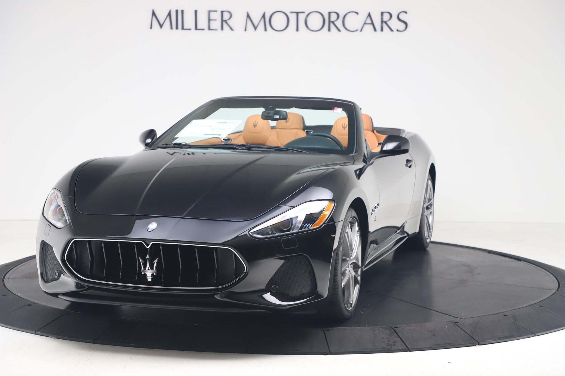 New 2019 Maserati GranTurismo Sport Convertible for sale $161,970 at Bugatti of Greenwich in Greenwich CT 06830 1