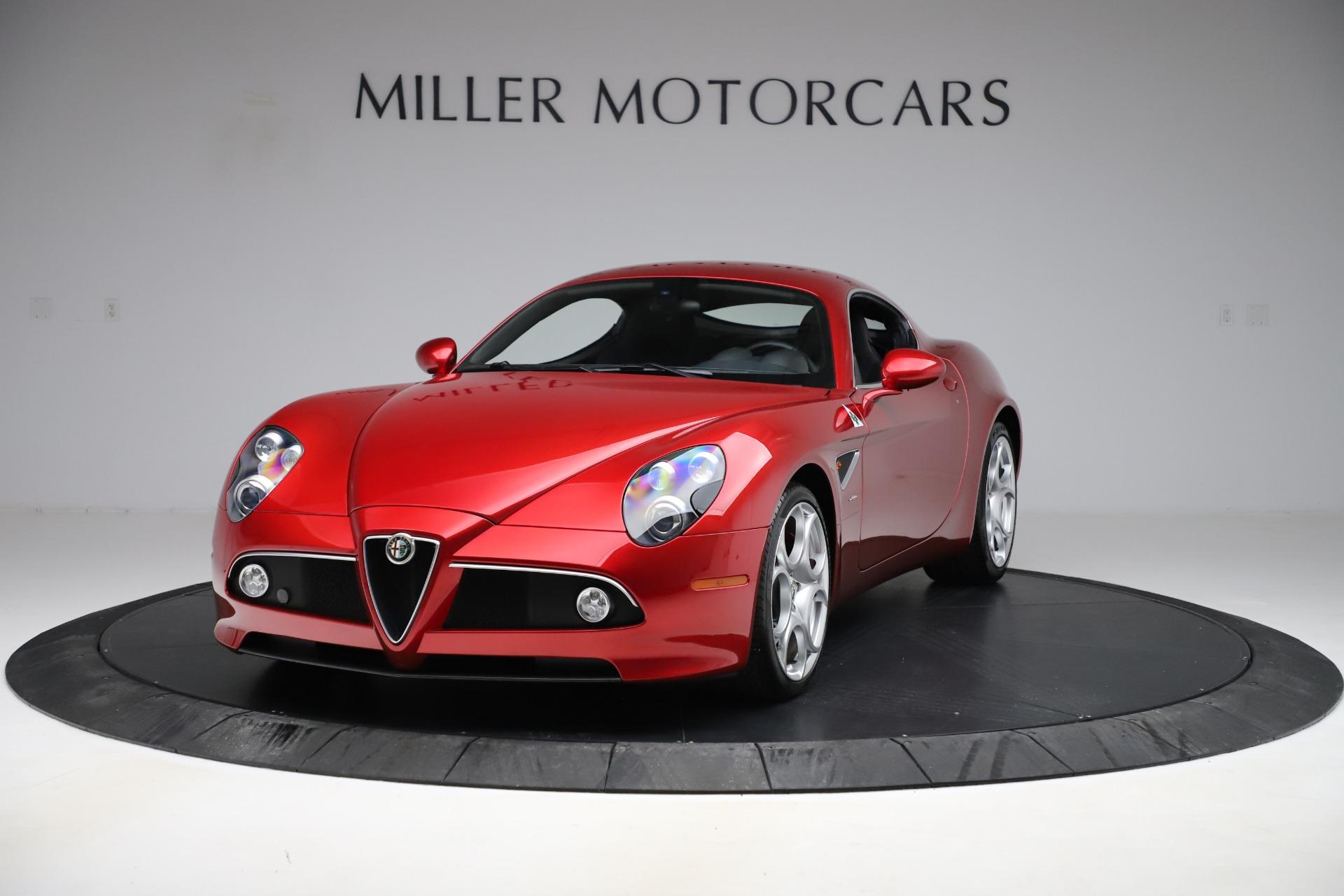 Used 2008 Alfa Romeo 8C Competizione for sale Call for price at Bugatti of Greenwich in Greenwich CT 06830 1