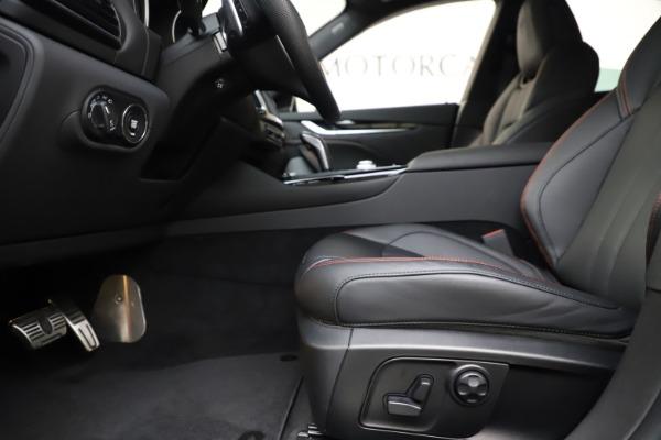 New 2019 Maserati Levante Q4 GranSport for sale Call for price at Bugatti of Greenwich in Greenwich CT 06830 14