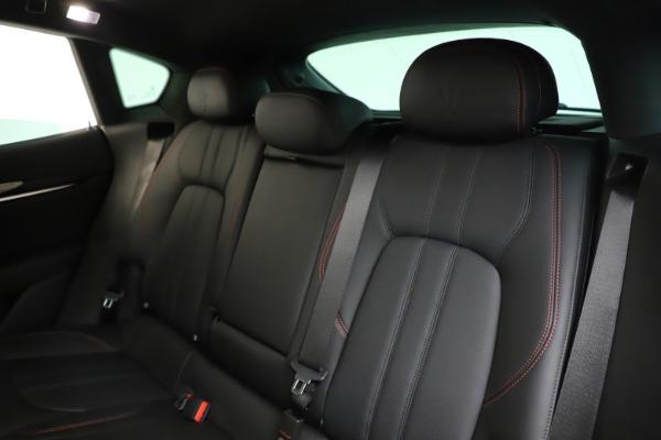 New 2019 Maserati Levante Q4 GranSport for sale Call for price at Bugatti of Greenwich in Greenwich CT 06830 20