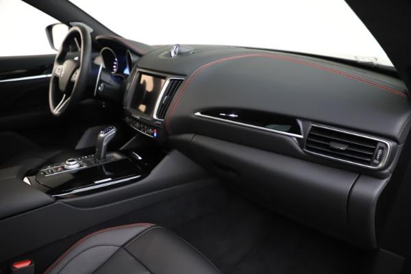 New 2019 Maserati Levante Q4 GranSport for sale Call for price at Bugatti of Greenwich in Greenwich CT 06830 22