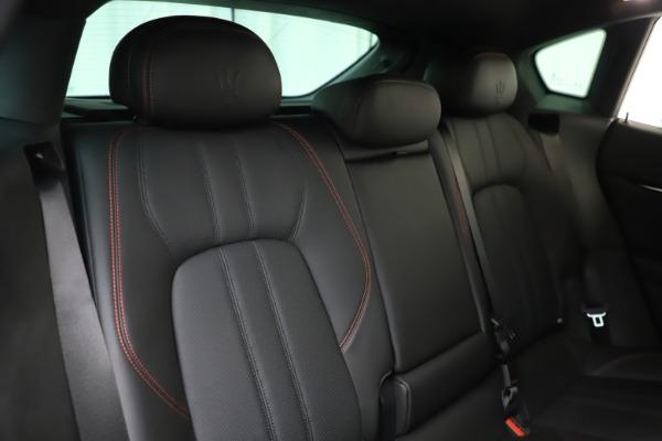 New 2019 Maserati Levante Q4 GranSport for sale Call for price at Bugatti of Greenwich in Greenwich CT 06830 26