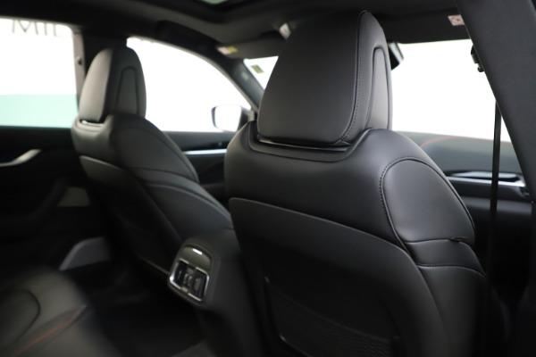 New 2019 Maserati Levante Q4 GranSport for sale Call for price at Bugatti of Greenwich in Greenwich CT 06830 28