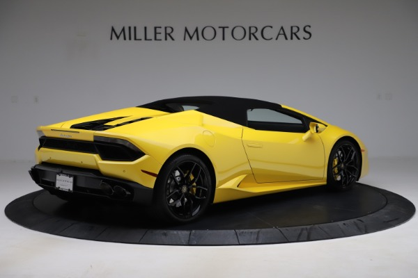 Used 2018 Lamborghini Huracan LP 580-2 Spyder for sale $203,900 at Bugatti of Greenwich in Greenwich CT 06830 15