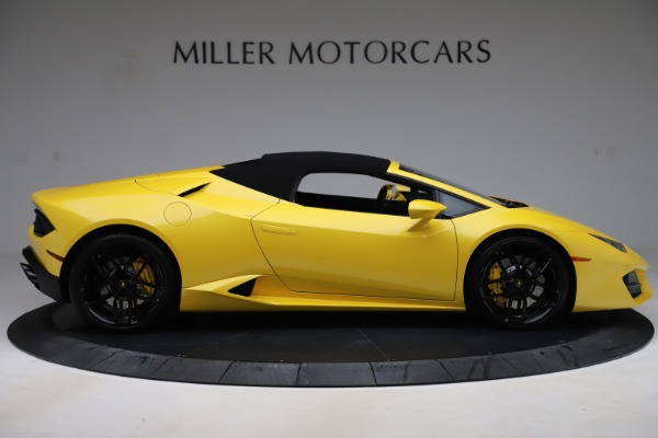 Used 2018 Lamborghini Huracan LP 580-2 Spyder for sale $203,900 at Bugatti of Greenwich in Greenwich CT 06830 16