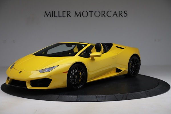 Used 2018 Lamborghini Huracan LP 580-2 Spyder for sale $203,900 at Bugatti of Greenwich in Greenwich CT 06830 2