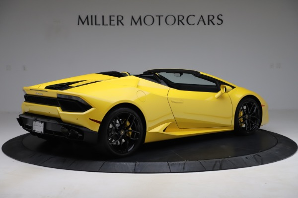 Used 2018 Lamborghini Huracan LP 580-2 Spyder for sale $203,900 at Bugatti of Greenwich in Greenwich CT 06830 8