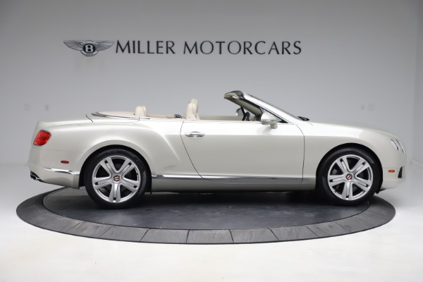 Used 2015 Bentley Continental GTC V8 for sale Sold at Bugatti of Greenwich in Greenwich CT 06830 10