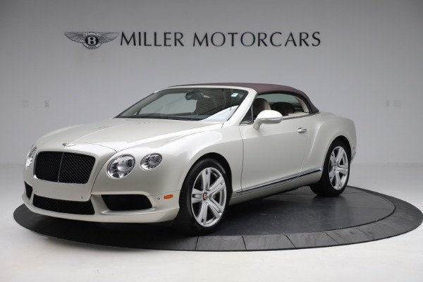 Used 2015 Bentley Continental GTC V8 for sale Sold at Bugatti of Greenwich in Greenwich CT 06830 14