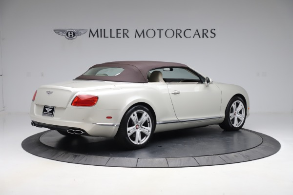 Used 2015 Bentley Continental GTC V8 for sale Sold at Bugatti of Greenwich in Greenwich CT 06830 17