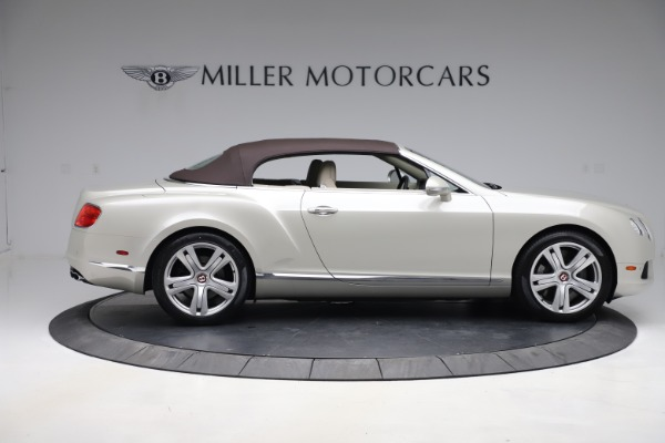 Used 2015 Bentley Continental GTC V8 for sale Sold at Bugatti of Greenwich in Greenwich CT 06830 18