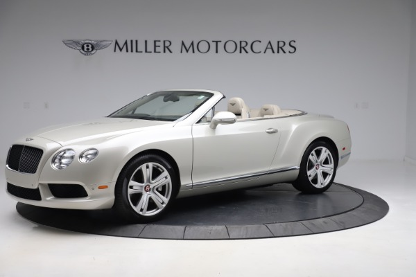 Used 2015 Bentley Continental GTC V8 for sale Sold at Bugatti of Greenwich in Greenwich CT 06830 2