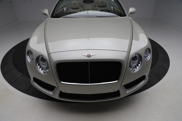 Used 2015 Bentley Continental GTC V8 for sale Sold at Bugatti of Greenwich in Greenwich CT 06830 21