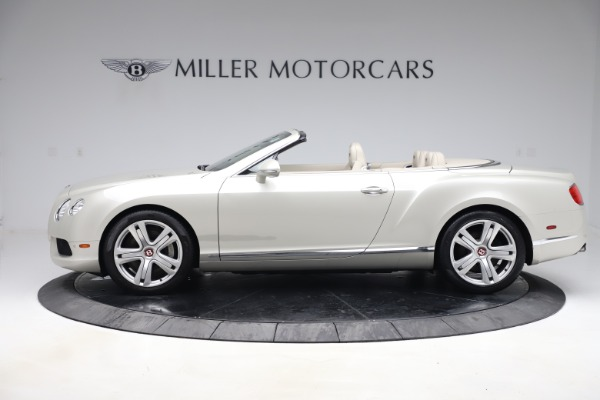 Used 2015 Bentley Continental GTC V8 for sale Sold at Bugatti of Greenwich in Greenwich CT 06830 3