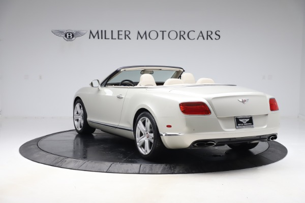 Used 2015 Bentley Continental GTC V8 for sale Sold at Bugatti of Greenwich in Greenwich CT 06830 4