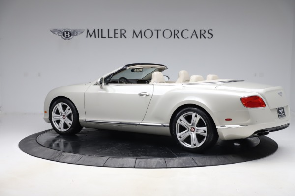 Used 2015 Bentley Continental GTC V8 for sale Sold at Bugatti of Greenwich in Greenwich CT 06830 5