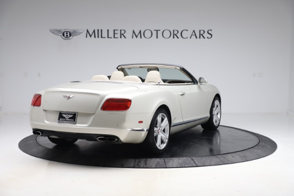 Used 2015 Bentley Continental GTC V8 for sale Sold at Bugatti of Greenwich in Greenwich CT 06830 7