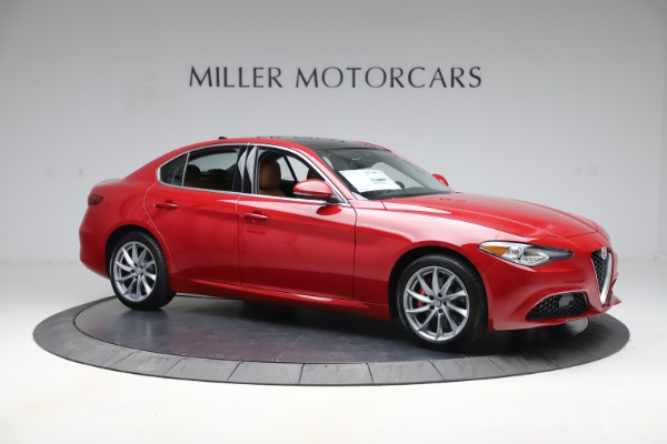 New 2020 Alfa Romeo Giulia Q4 for sale $45,740 at Bugatti of Greenwich in Greenwich CT 06830 10