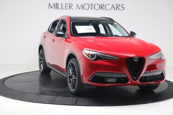 New 2020 Alfa Romeo Stelvio Q4 for sale $49,240 at Bugatti of Greenwich in Greenwich CT 06830 11