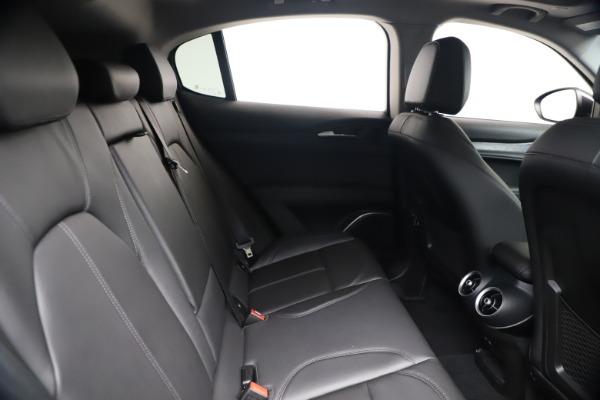 New 2020 Alfa Romeo Stelvio Q4 for sale $49,240 at Bugatti of Greenwich in Greenwich CT 06830 27