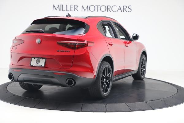 New 2020 Alfa Romeo Stelvio Q4 for sale $49,240 at Bugatti of Greenwich in Greenwich CT 06830 7