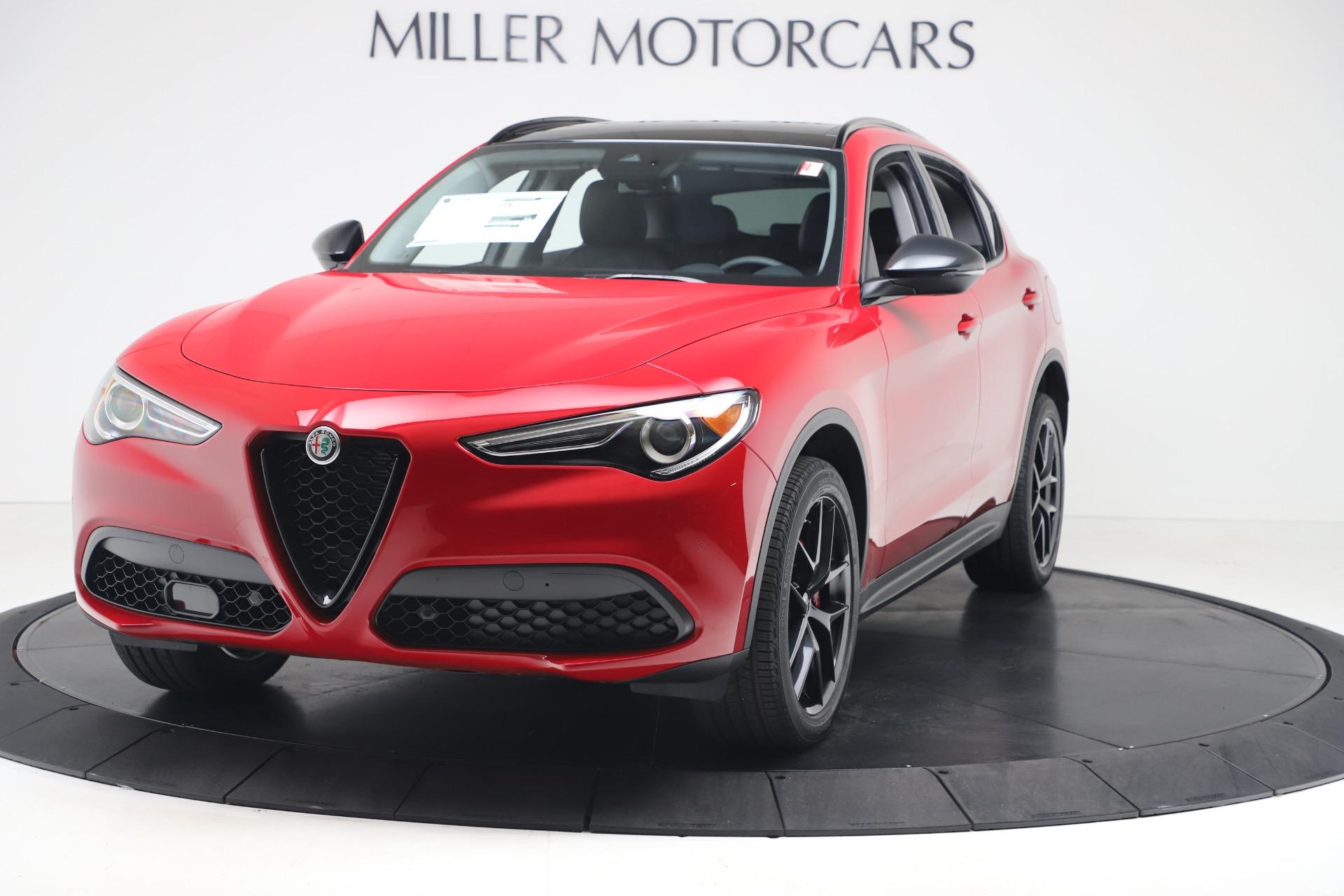 New 2020 Alfa Romeo Stelvio Q4 for sale $49,240 at Bugatti of Greenwich in Greenwich CT 06830 1