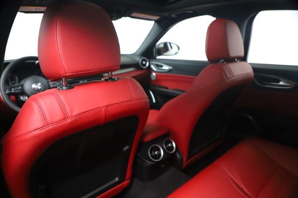 New 2020 Alfa Romeo Giulia Ti Sport Q4 for sale $56,440 at Bugatti of Greenwich in Greenwich CT 06830 20
