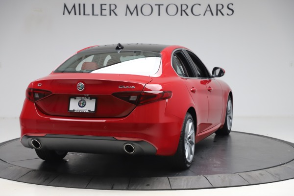 New 2020 Alfa Romeo Giulia Q4 for sale $45,740 at Bugatti of Greenwich in Greenwich CT 06830 7