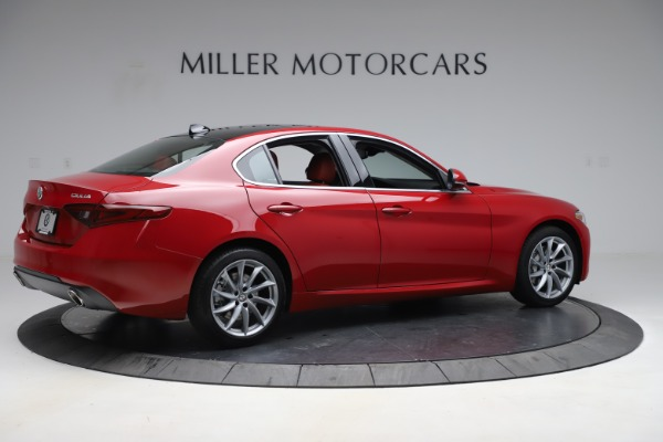 New 2020 Alfa Romeo Giulia Q4 for sale $45,740 at Bugatti of Greenwich in Greenwich CT 06830 8
