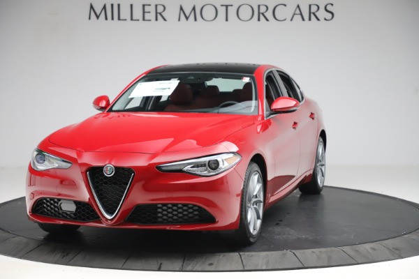 New 2020 Alfa Romeo Giulia Q4 for sale $45,740 at Bugatti of Greenwich in Greenwich CT 06830 1