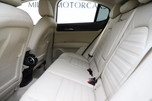 New 2020 Alfa Romeo Stelvio Ti Lusso Q4 for sale $55,790 at Bugatti of Greenwich in Greenwich CT 06830 19