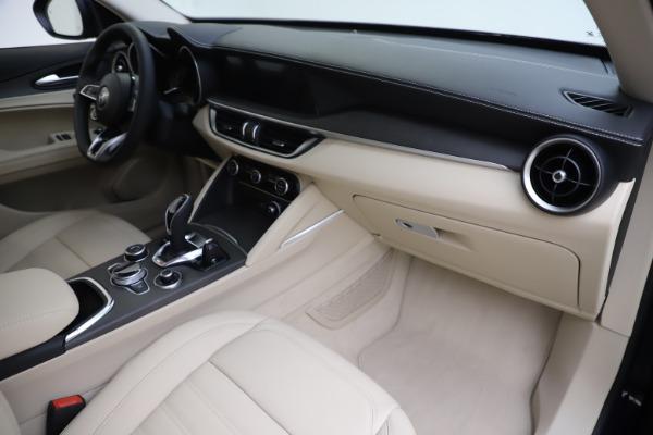 New 2020 Alfa Romeo Stelvio Ti Lusso Q4 for sale $55,790 at Bugatti of Greenwich in Greenwich CT 06830 22