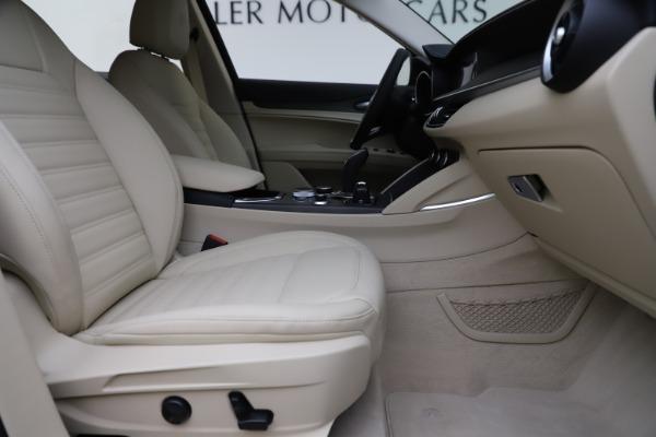 New 2020 Alfa Romeo Stelvio Ti Lusso Q4 for sale $55,790 at Bugatti of Greenwich in Greenwich CT 06830 23