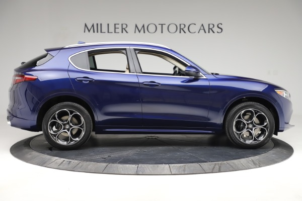 New 2020 Alfa Romeo Stelvio Ti Lusso Q4 for sale $55,790 at Bugatti of Greenwich in Greenwich CT 06830 9