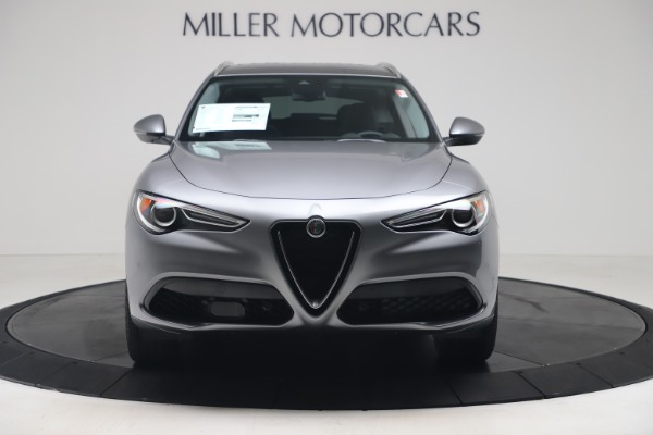 New 2020 Alfa Romeo Stelvio Ti Lusso Q4 for sale $55,790 at Bugatti of Greenwich in Greenwich CT 06830 12