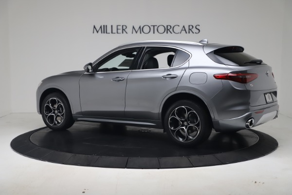 New 2020 Alfa Romeo Stelvio Ti Lusso Q4 for sale $55,790 at Bugatti of Greenwich in Greenwich CT 06830 4