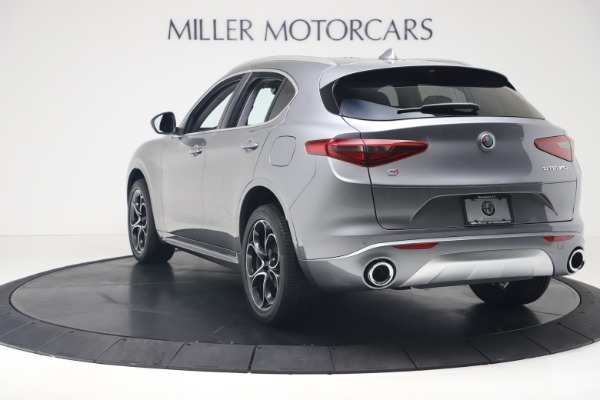 New 2020 Alfa Romeo Stelvio Ti Lusso Q4 for sale $55,790 at Bugatti of Greenwich in Greenwich CT 06830 5