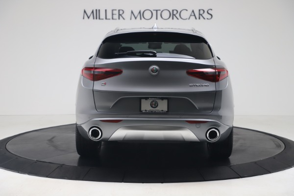 New 2020 Alfa Romeo Stelvio Ti Lusso Q4 for sale $55,790 at Bugatti of Greenwich in Greenwich CT 06830 6