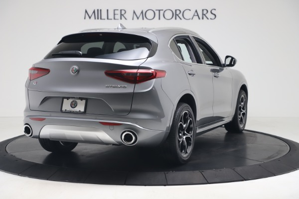 New 2020 Alfa Romeo Stelvio Ti Lusso Q4 for sale $55,790 at Bugatti of Greenwich in Greenwich CT 06830 7
