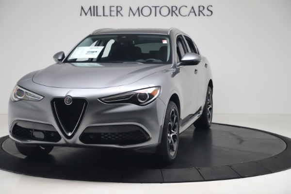 New 2020 Alfa Romeo Stelvio Ti Lusso Q4 for sale $55,790 at Bugatti of Greenwich in Greenwich CT 06830 1