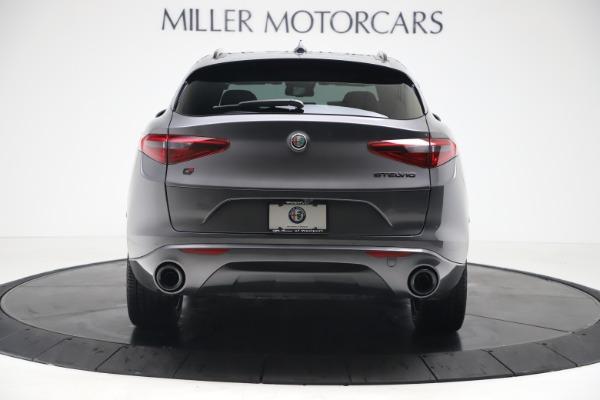 New 2020 Alfa Romeo Stelvio Ti Sport Q4 for sale Sold at Bugatti of Greenwich in Greenwich CT 06830 7