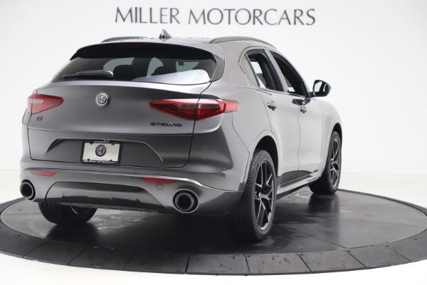 New 2020 Alfa Romeo Stelvio Ti Sport Q4 for sale Sold at Bugatti of Greenwich in Greenwich CT 06830 8