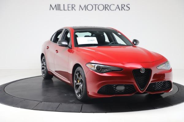 New 2020 Alfa Romeo Giulia Ti Sport Q4 for sale $56,690 at Bugatti of Greenwich in Greenwich CT 06830 11