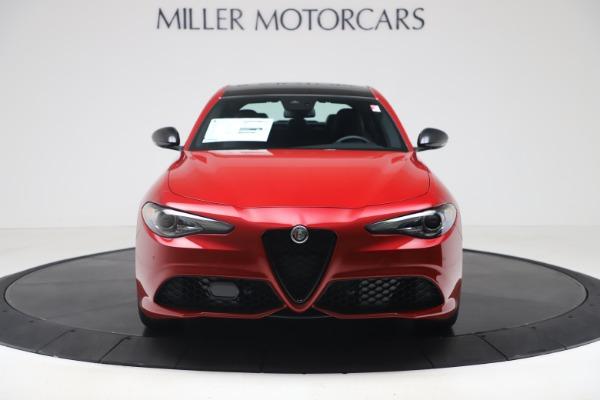 New 2020 Alfa Romeo Giulia Ti Sport Q4 for sale $56,690 at Bugatti of Greenwich in Greenwich CT 06830 12