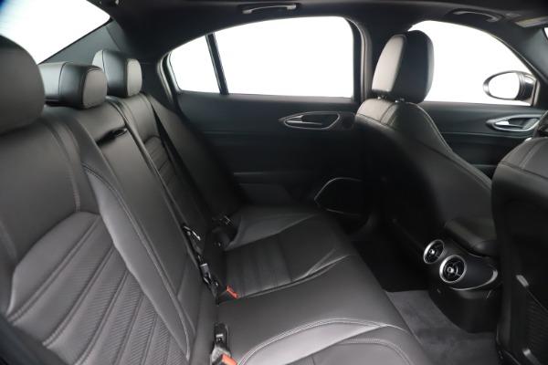 New 2020 Alfa Romeo Giulia Ti Sport Q4 for sale $56,690 at Bugatti of Greenwich in Greenwich CT 06830 27